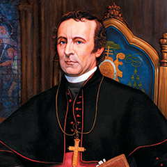 Archbishop John Hughes Founder of Fordham