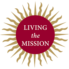 Living the Mission Logo